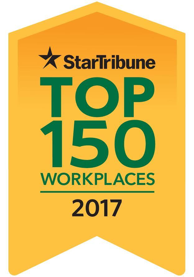 Minneapolis Star Tribune Top 150 Workplace