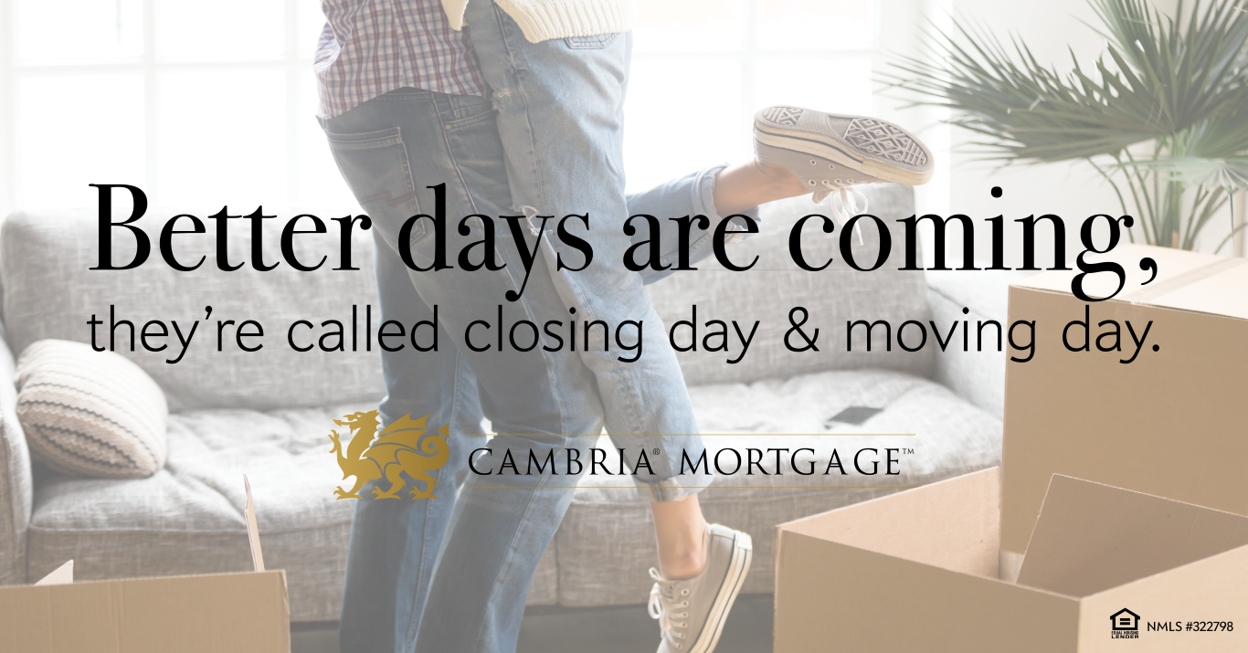 Cambria Mortgage First time home buyers