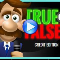 Credit - True or False Game